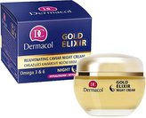Dermacol Omlazující kaviárový noční krém (Gold Elixir Night Cream) 50 ml pro ženy