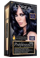 Loreal Paris Barva na vlasy Préférence Black Pearls Odstín P12 Black Blue pro ženy