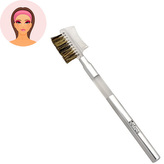Sefiros Štětec na řasy a obočí Silver (Eyelash Brush With Comb) pro ženy