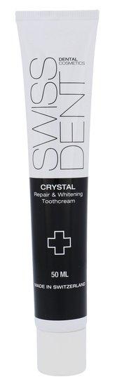 Swissdent Regenerační zubní krém s bělicím efektem Crystal (Repair & Whitening Toothcream) Objem 50 ml unisex