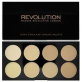 Makeup Revolution Ultra krycí paletka (Ultra Cover and Conceal) Odstín Medium - Dark