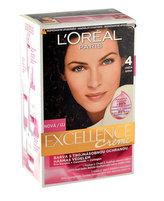 Loreal Paris Permanentní barva na vlasy Excellence Creme Odstín 4 hnědá