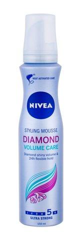 Nivea Pečující pěnové tužidlo pro oslňující lesk vlasů Diamond Volume Care (Styling Mouse) 150 ml