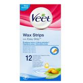 Veet Studené voskové pásky pro citlivou pokožku 12 ks pro ženy
