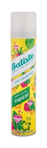 Batiste Suchý šampon na vlasy s vůní tropického ovoce (Dry Shampoo Tropical With A Coconut & Exotic Fragrance) Objem 200 ml pro ženy