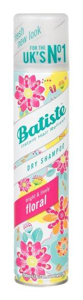 Batiste Suchý šampon na vlasy s hravou květinovou vůní Floral Esences (Dry Shampoo) 200 ml pro ženy