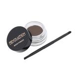 Makeup Revolution London Brow Pomade Úprava obočí 2,5 g Soft Brown pro ženy