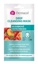 Dermacol Textilní hloubkově čisticí maska 3D (Gently Removes Dead Skin) 1 ks pro ženy