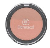 Dermacol DUO tvářenka s reliéfem krajky (Duo Blusher) 8,5 g Odstín č.2 pro ženy