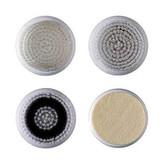 Bellissima Náhradní sada 4 hlavic pro Sónický vibrační kartáček na čištění a revitalizaci pleti 5097 (Refill Kit 5124) pro ženy