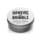 Hawkins & Brimble Hydratační krém na holení s vůní elemi a ženšenu (Elemi & Ginseng Shaving Cream) 100 ml pro muže