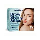 Refectocil Depilační proužky na obočí (Brow Styling Strips) 30+30 párů pro ženy