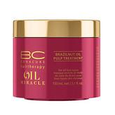 Schwarzkopf Professional Maska pro výživu a hydrataci vlasů BC Bonacure Oil Miracle (Brazilnut Oil Pulp Treatment For All Hair Types) Objem 500 ml pro ženy