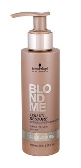 Schwarzkopf Professional Intenzivní keratinová kúra pro blonďaté vlasy BLONDME (Keratin Restore Intense Care Bonding Potion) 150 ml pro ženy