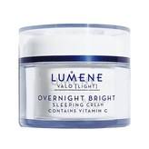 Lumene Rozjasňující noční krém s vitamínem C Light (Overnight Bright Sleeping Cream Contains Vitamin C) 50 ml