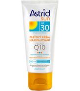 Astrid Sun OF 30 Pleťový krém na opalování s koenzymem Q10 50 ml pro ženy