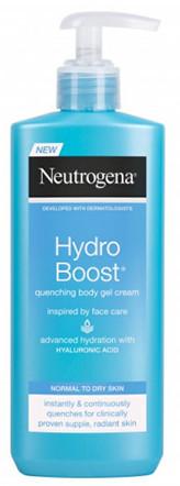 Neutrogena Hydratační tělový krém Hydro Boost (Quenching Body Gel Cream) Objem 250 ml pro ženy
