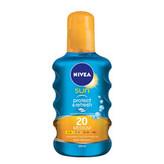 Nivea Sun Protect & Refresh Opalovací přípravek na tělo 200 ml SPF20 pro ženy