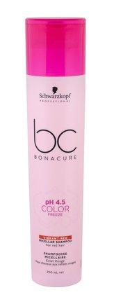 Schwarzkopf BC Bonacure pH 4.5 Color Freeze Šampon Vibrant Red 250 ml pro ženy