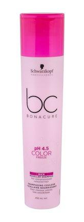 Schwarzkopf BC Bonacure pH 4.5 Color Freeze Šampon Rich 250 ml pro ženy