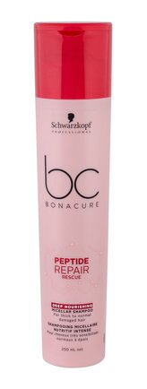 Schwarzkopf BC Bonacure Peptide Repair Rescue Šampon 250 ml pro ženy