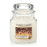 Yankee Candle Aromatická svíčka Classic střední All Is Bright 411 g unisex