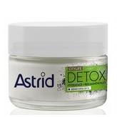Astrid Hydratační rozjasňující denní krém OF10 Citylife Detox 50 ml woman