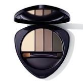 Dr. Hauschka Paletka pro líčení očí a obočí (Eye & Brow Palette) 5,3 g Odstín 01 Stone woman