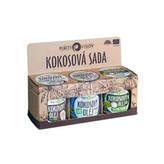 Purity Vision Kokosová sada (Raw kokosový olej, Panenský kokosový olej, Kokosový olej bez vůně) woman