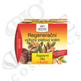 Bione Cosmetics Regenerační výživný pleťový krém Arganový olej + Karité 51 ml woman