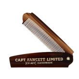 Captain Fawcett Skládací hřeben na plnovous CF.82 man