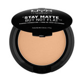 NYX Pudrový make-up Stay Matte But Not Flat (Powder Foundation) 7,5 g Odstín 17 Warm woman