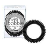Invisibobble Tenká spirálová gumička do vlasů Invisibobble Slim 3 ks Varianta True Black woman