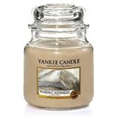 Yankee Candle Aromatická svíčka Classic malá Warm Cashmere 104 g unisex