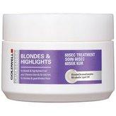 Goldwell Regenerační maska neutralizující žluté tóny vlasů Dualsenses Blondes & Highlights (60 Sec Treatment) Objem 200 ml woman
