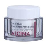 ALCINA Sensitive Facial Cream Denní pleťový krém Light 50 ml pro ženy