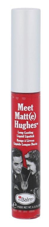 theBalm Dlouhotrvající tekutá rtěnka Meet Matt(e) Hughes 7,4 ml Odstín Devoted Bright Red woman