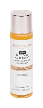 Revolution Čisticí pleťové tonikum Skincare 5% Glycolic Acid (Cleanse and Condition Tone) 200 ml woman