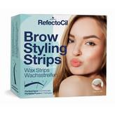Refectocil Depilační proužky na obočí (Brow Styling Stripes) 20 párů woman