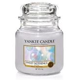 Yankee Candle Aromatická svíčka Classic střední Sladká nic (Sweet Nothings) 411 g unisex