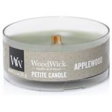 WoodWick Aromatická malá svíčka s dřevěným knotem Applewood 31 g unisex