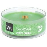 WoodWick Aromatická malá svíčka s dřevěným knotem Palm Leaf 31 g unisex