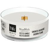 WoodWick Aromatická malá svíčka s dřevěným knotem Smoked Jasmine 31 g unisex