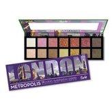 RUDE® Cosmetics Paletka 14 očních stínů Metropolis London (Eyeshadow Palette) 14 g woman