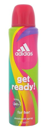 Adidas Get Ready! For Her Antiperspirant 48h 150 ml pro ženy