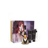 Rihanna Reb´l Fleur Dárková sada Parfémová voda 100 ml, miniaturka Reb´l Fleur Parfémová voda 10 ml, tělové mléko Reb´l Fleur 90 ml a sprchový gel Reb´l Fleur 90 ml