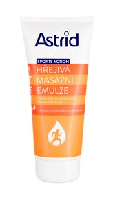 Astrid Sports Action Masážní přípravek Warming Massage Emulsion 200 ml pro ženy